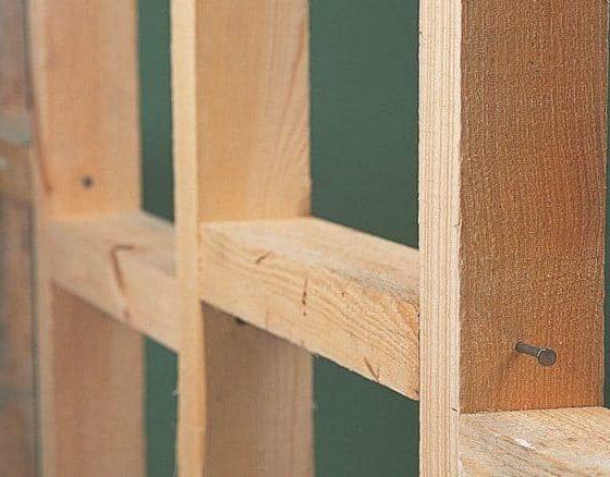 پارتیشن چوبی دوجداره